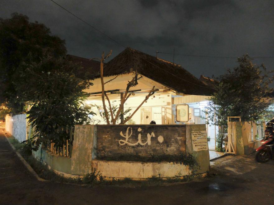 Lir, si rumah tua yang tersembunyi meskipun di tengah kota Jogja.